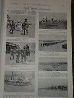 1898 Khartoum Gen Hunter 12TH Soudanese Cameron Cairo