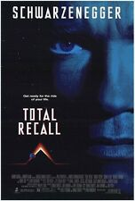 TOTAL RECALL 27x40 D/S Original Movie Poster One Sheet ARNOLD SCHWARZENEGGER
