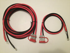 6 GAUGE 20 FT & 3 FT QUICK CONNECT WINCH WIRING KIT, REESE HITCH RECOVERY WINCH
