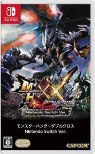 Nintendo Switch Monster Hunter XX Double Cross Japan 4976219086301