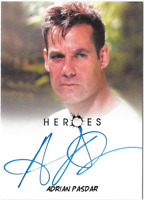 Heroes Archives Auto Autograph Card Adrian Pasdar Nathan Petrelli