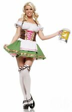 Womens Sexy Gretchen German Beer Girl Costume size M