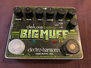 electro harmonix deluxe bass big muff pi pedal