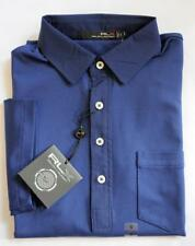 NEW Ralph Lauren POLO Mens LONG SLEEVE RLX GOLF Polo Shirt Navy Size Medium