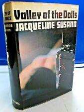1966 Valley of the Dolls by Jacqueline Susann British 2nd Edition Hc/Dj Euc