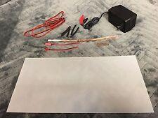 "Smart Film starter Kit 12"" X 6""  electrochromic film switchable glass pdlc"