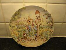 Beatrix Potter Plate - Peter In Mr.McGregors Garden - Wedgwood