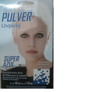 LOQUAY: PRIMER PULVER PROFESSIONAL BLUE POWDER HAIR LIGHTENER