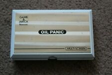 NINTENDO GAME AND WATCH OIL PANIC OP-51 1983 WORKING CONDITION