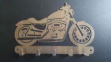 Edelstahl Motorrad Schlüsselbrett Schlüsselkasten BMW Peugot Simson Harley David