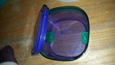 Tupperware Acrylic Purple bowl  Bowl with seal #26028