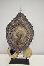 Papua New Guinea Money Shell Mask Boiken Yangoru Village Talipun Woven