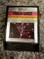 Trick Shot (Atari 2600, 1982) Text Label Imagic CARTRIDGE ONLY FREE SHIPPING