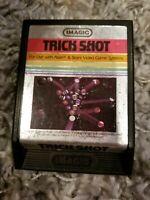 Trick Shot (Atari 2600, 1982) Text Label Imagic CARTRIDGE ONLY FREE SHIPPING