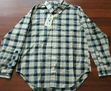 Woolrich Mark McNairy Woolen Mills, Long sleeve Plaid, Small, Green, Made in USA