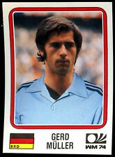Deutschland-BRD Gerd Muller #73 World Cup Story Panini Sticker (C350)