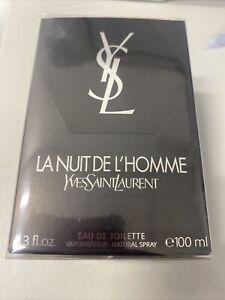 YVES SAINT LAURENT LA NUIT DE L'HOMME EAU DE TOILETTE EDT 100ML SPRAY - MEN'S