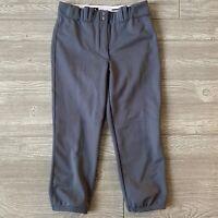 New Adidas baseball pants gray Mens Size medium