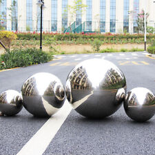 4pcs Silver Mirror Gazing Balls Garden Spheres Stainless Steel 10/15/20Cm Decor