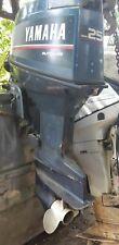 Yamaha 2 Takt Bootsmotor 25 Ps E-Start / Ferbedienung