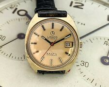 Really Pretty Vintage Lanco Naval Gents Watch - Military Diving Watch?