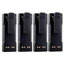 4x NEW NTN7144 NTN7143 Battery for MOTOROLA HT1000 HT6000 MT2000 MTS2000 MTX9000