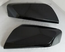 "BLACK Mirror Covers ""Clip On"" Replacement Shells FOR 2014-2019 2020 Chevy Impala"