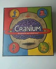 Cranium the game for your whole brain board game brand new sealed