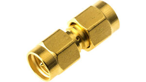 1x SMA Male To SMA male Coupler Connector Adaptor  Uk Seller