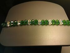 Bracelet made with Swarovski Crystals and Sterling Silver.
