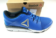 Reebok Men s Trainflex Shoes Cross-Trainer Blue Sz 10.5 Running Athletic  Sneaker 8da1e2539