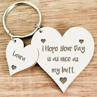 Personalised Gifts for Him Boyfriend Husband Men Wife Women Keyring Gifts U11