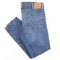 LEVI'S 502 Blue Denim Slim Tapered Jeans Mens W38 L28
