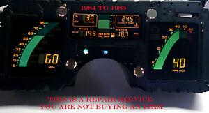 1984 1985 1986 87 88 89  Chev  Corvette Instrument Cluster REPAIR SERVICE