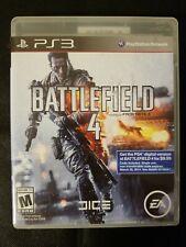 Battlefield 4 (Sony PlayStation 3, 2013) FREE SHIPPING
