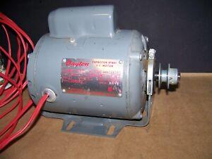 DAYTON ks55bbj-715 CAPACITOR START MOTOR 1/3 HP 1725 RPM 115/230V 60 cyc