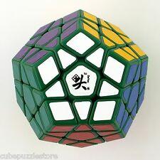 Dayan Megaminx Dodecahedron Gegaminx Twist Puzzle Rub Magic Cube Green Fancy Toy