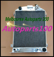 QLD 3 Row Aluminum Radiator for FORD HI-BOY GRILL SHELLS CHEVY ENGINE 1932 AT