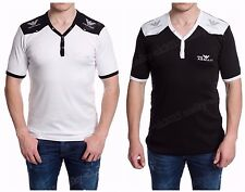 New T-shirt Armani Men Shirt White Black Color Size M L XL XXL Free Shipping
