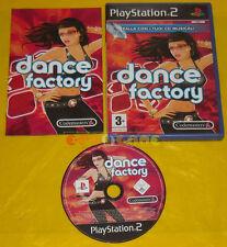 DANCE FACTORY Ps2 Versione Ufficiale Italiana 1ª Edizione »»»»» USATO