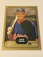 2002 Just Minors Baseball Just Prospects Gold - Yadier Molina - Cardinals
