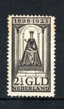 Netherlands 1923 2 1/2g  Queen's Accession MH