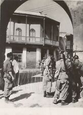 Morocco Riots against France Colonialism Old Photo 1954