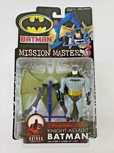 Hasbro Mission Masters 3 KNIGHT ASSAULT BATMAN w/ Accessories Action Figure 2000