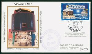 Mayfairstamps Guyana 2000 Ariane V 131 Brasilsat B4 Space Cover wwo89849