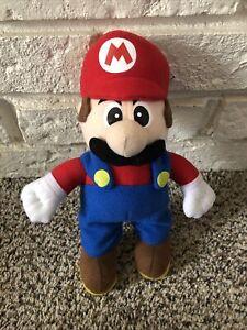 "Super Mario Bros Plush - Super Mario - 10"" - VERY GOOD CONDITION"
