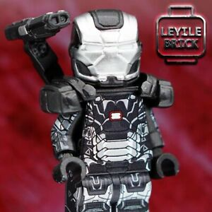 ⎡LEYILE BRICK⎦Custom War Machine Lego Minifigure