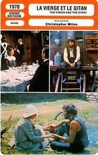 FICHE CINEMA : LA VIERGE ET LE GITAN - Shimkus,Nero 1970 Virfin And The Gypsy
