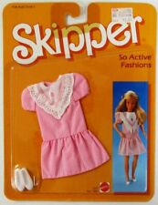 1985 Skipper, Sister of Barbie, So Active Fashions Pink and White Dress 2237 (.