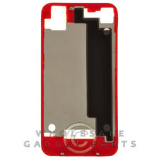 Door Frame for Apple iPhone 4S CDMA GSM Red Panel Housing Battery Cover